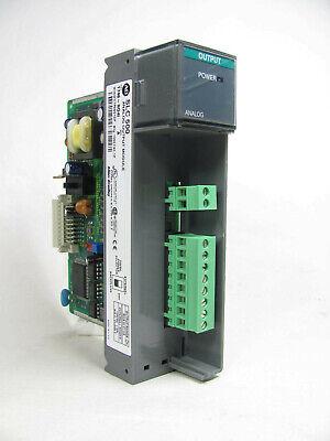 Allen Bradley Slc 500 Analog Output 1746-no4i -n041 Ser A Works No Door