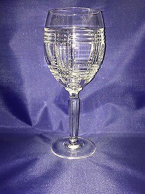 Ralph Lauren GLEN PLAID Lead Crystal Wine Glass