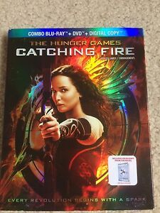 Hunger Games Catching Fire Combo Pack DVD