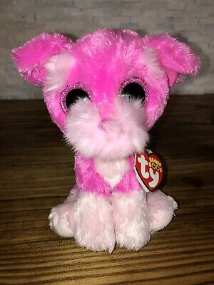 "TY BEANIE BOOS CLAIRES EXCLUSIVE 6"" CHERRY"
