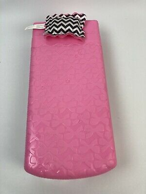 Barbie Dreamhouse Bed And Pillow Replacement Pink Mattel 2015 CJR47