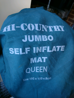 Hi-country queen self inflating mattress