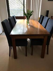 Six High Back Dining Chairs $20 each Mosman Mosman Area Preview