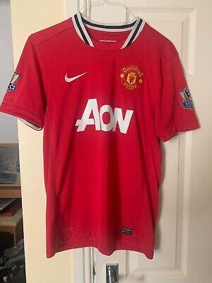 Lukaku #9 Manchester United 2017-2019 Premier League Home Football Nameset shirt