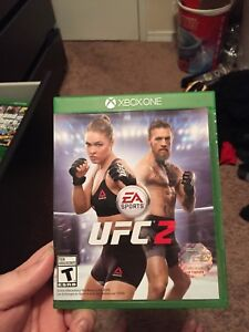 Xbox one ufc 2 game $10