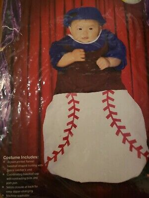 Infants & Newborns Uniforms Baseball 0 - 6 Months bunting with matching cap New