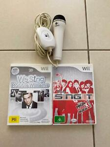 Wii microphone 2 games
