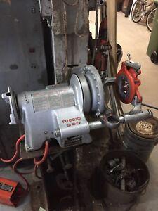 Filiere à tuyeau  filteuse ridgid 300
