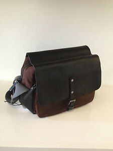 Ally-Capellino-iDris-Brown-Black-Camera-Bag-Brand-New