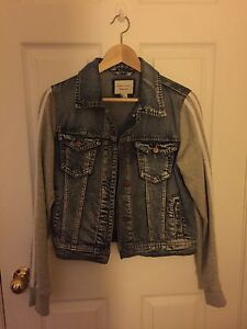 Forever 21 Denim Sweater Jacket