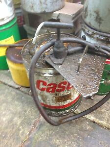Castrol  5 gallon original pump in working order Seacombe Heights Marion Area Preview