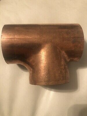 2 Inch Copper Sweat Tee New Unbranded Bulk Stock