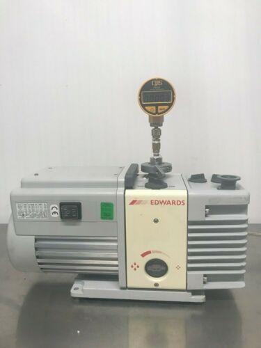 Edwards RV3 Rotary Vane Vacuum Pump with Oil Mist Filter