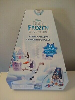 Disney Frozen Advent Calendar Olaf Adventure Figures Christmas damaged box