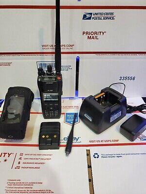 Harris Xl-200p Portable Radio Used Dual Band Vhfuhf 136-174 378-522 Mhz P25 .
