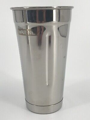 Waring 030883 Cac20 Dmc Drink Mixer Container Cup Genuine 188 Stainless Steel