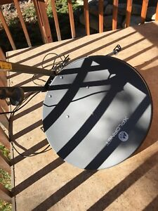 Xplornet satellite dish only