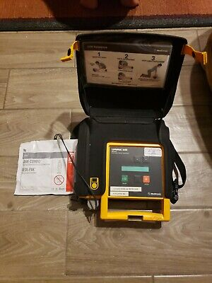 Physio-control Lifepak 500 Biphasic Ecg Emt W Pad And Battery Medtronic