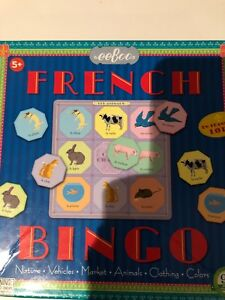 eeBoo French Bingo!