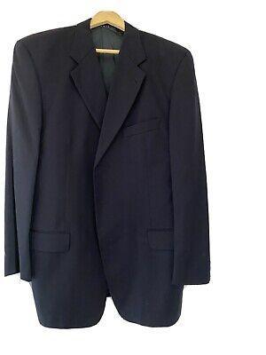"Mens Rare Mark Shale Joseph Abboud Vintage Genuine Navy Wool Jacket M 40"" Chest"