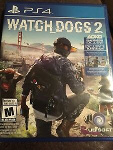 Watch dogs 2 mint condition 60$