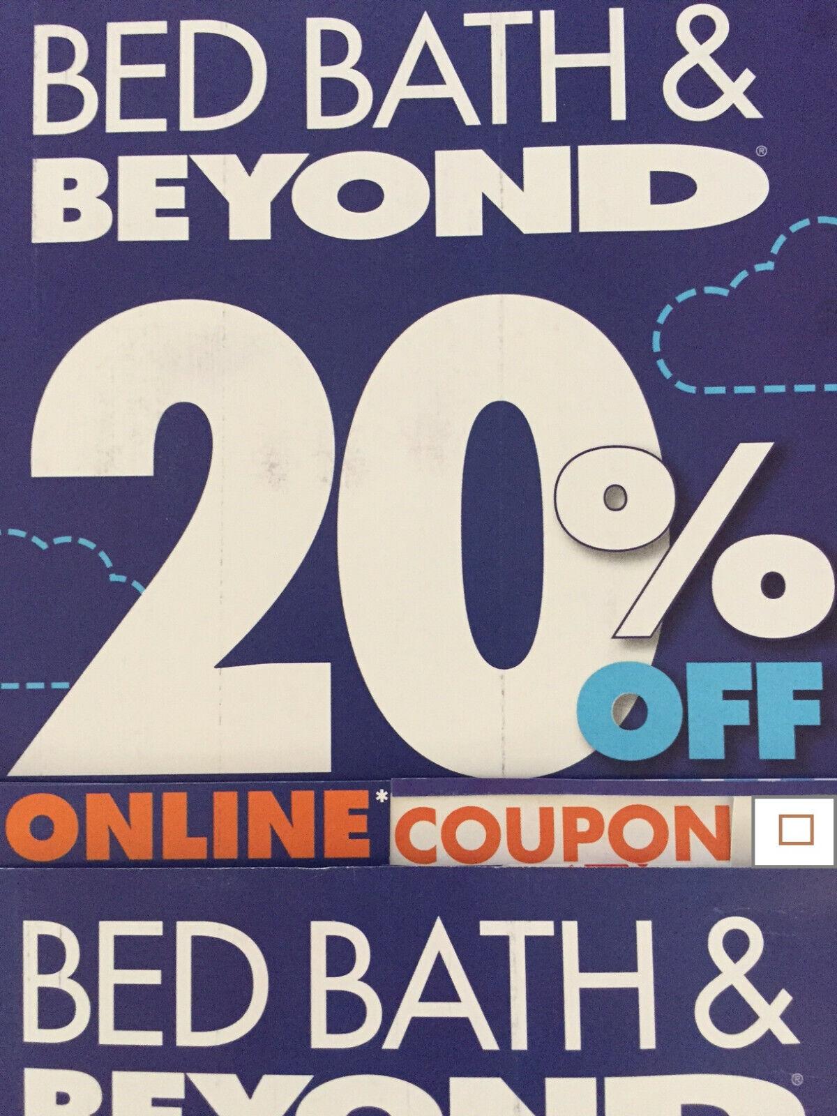 1-Bed Bath Beyond 20 Off 1 Item Online Coupon Exp 3/15/21 - $1.34