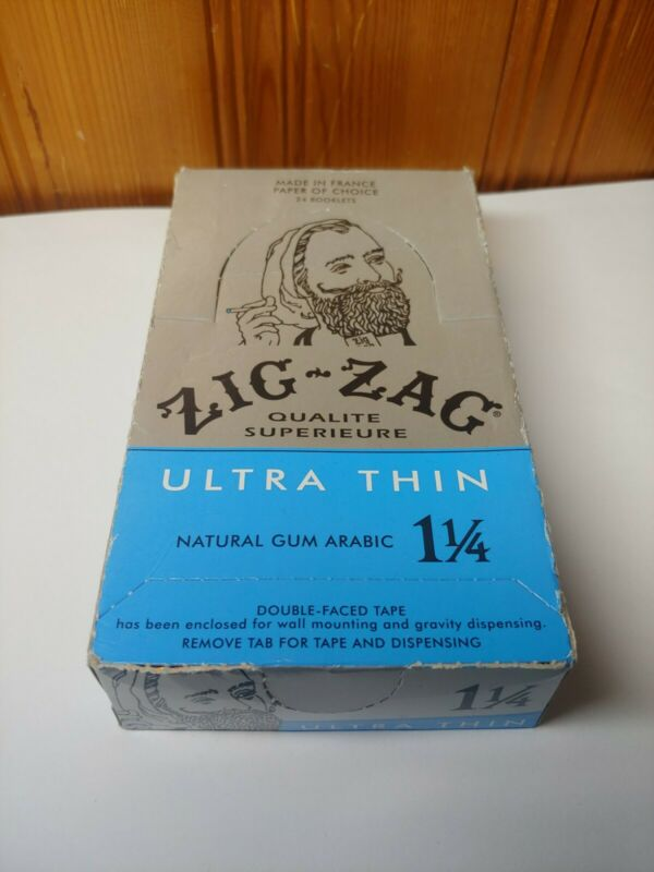 Zig-Zag® Ultra Thin Papers 1 1/4 24 Booklet Carton