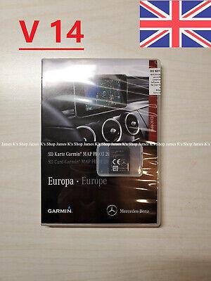 2020-2021 V14 Mercedes Garmin Karte Pilot SD Sat Nav A- B + Cla E GLS Gla Gle