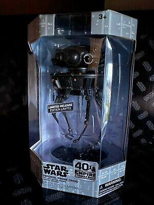 40th Star Wars Disney Store Imperial Probe Droid Elite Series Die-Cast Figure..