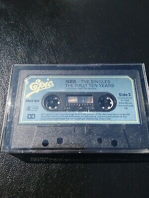 ABBA - THE SINGLES - THE FIRST 10 YEARS - SIDE 3 & 4 - NO INLAY - CASSETTE TAPE