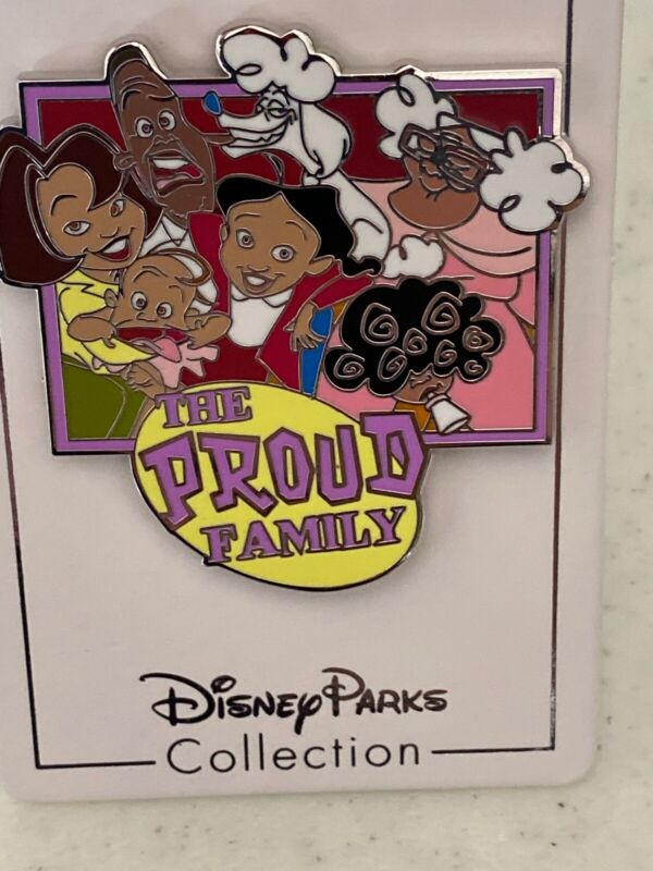 Disney Parks 2020 The Proud Family New Open Edition Pin