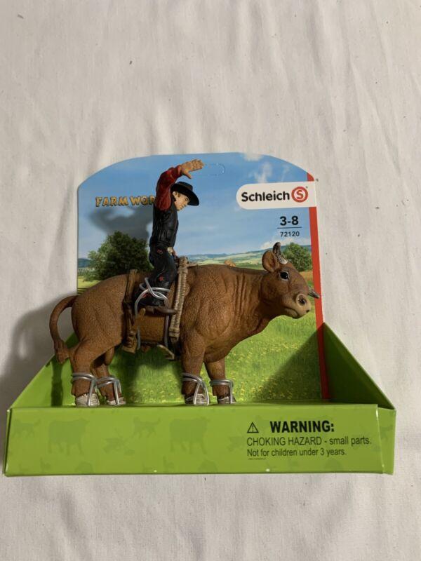 *New* Schleich Farm World,  Bull Rider #72120
