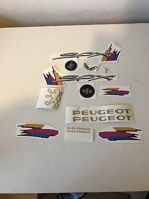 kit autocollant stickers mobylette peugeot 103 SPX de 1996