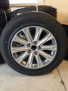 Amazing NEW Honda Odyssey Touring Set Of 4 Michelin PAX Tires U0026 OEM Wheels 2005 2009