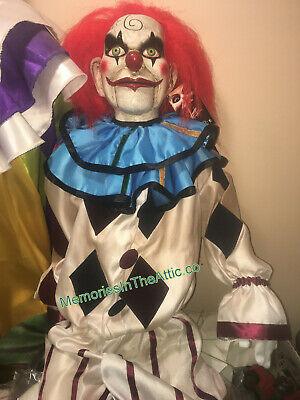 Halloween Prop Dead Silence Mary Shaw Clown Puppet Trick Or Treat Studios Horror](Studio Halloween Props)
