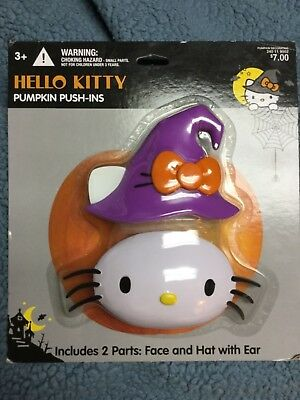 Hello Kitty Pumpkin Push Ins - Pumpkin Push Ins