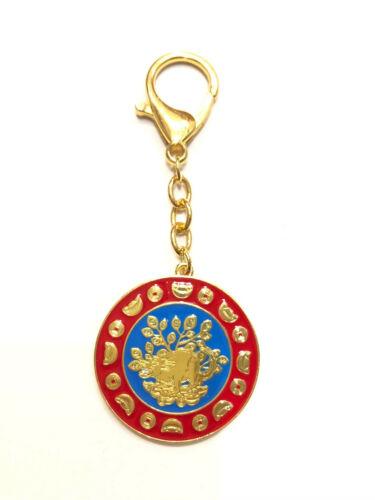 2020 Feng Shui Mongoose Wealth Amulet Keychain USA Seller