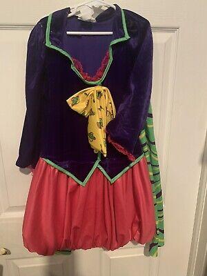 Tween Mad Hatter (California Costume Mad Hatter Costume Tween Size XL 12-14 Alice No Hat 1)