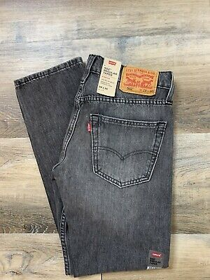 Levi's Men's 502 Regular Taper-Fit Stretch Jeans Medium Wash Size 28x30 NWT