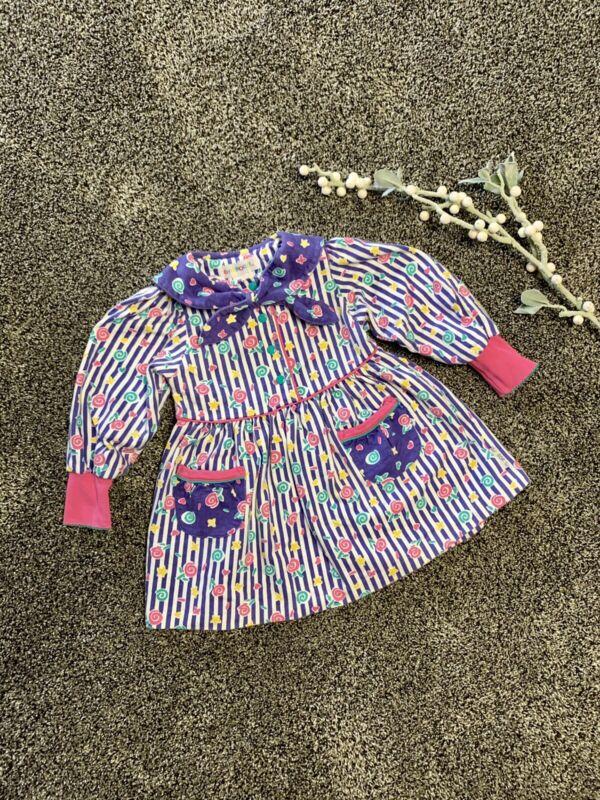 Vintage 90's Gymboree stargazer dress size small toddler (2/3)