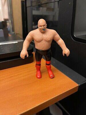 WWE WWF wrestling action figure 1986 LJN Bendies George Animal Steele