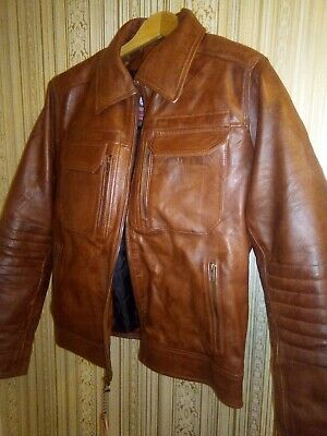 Leather Jacket Men's for sale  Shipping to India