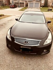 Great Condition Infiniti G37 tech package