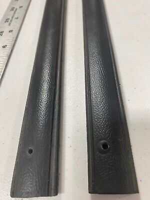 New GRAY 81-91 Chevy GMC Pickup Truck Interior Door Panel Pull Strap Handle pair