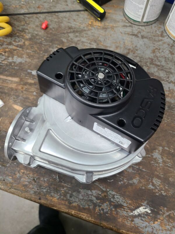Used  HTP Combustion Blower 7100p-518 Fasco Brand