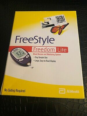 FreeStyle Freedom Lite Blood Glucose Monitoring System 2022