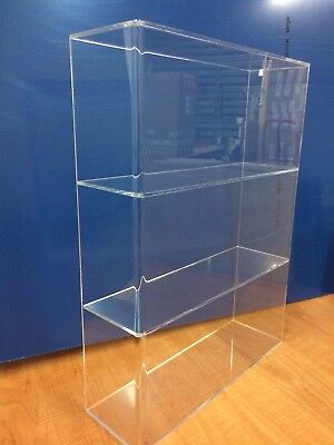 Ds-acrylic Lucite Countertop Display Case Showcase Cabinet 14w X 4 14 X 19h