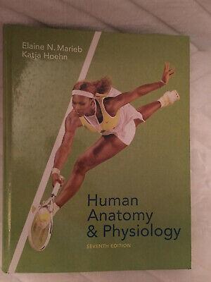 Human Anatomy And Physiology ~ by Elaine Marieb & Katja Hoehn ~ 7th Edition (Human Anatomy And Physiology Marieb 7th Edition)