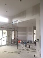 Drywall taper and painter available small renos and repairs ok