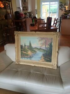Authentic Ludwig Flancer Painting